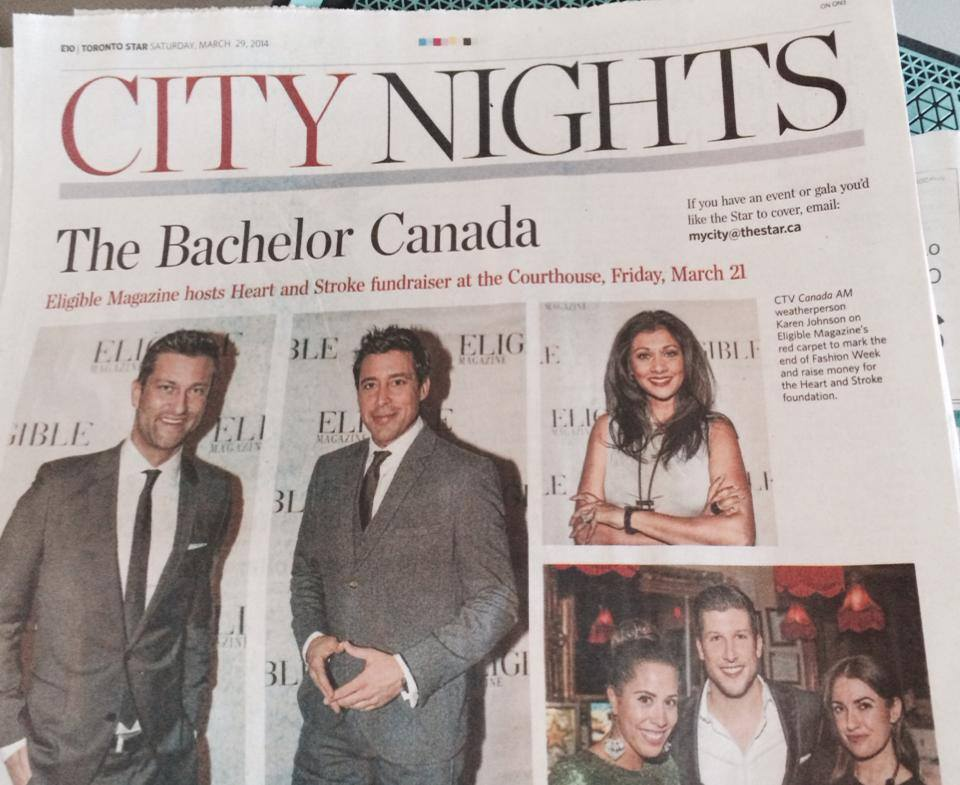 Kj in toronto Star March 2014