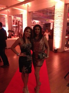 Sangita Patel and KJ @ Entertainment Tonight Anniversary Party