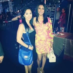 Veronica Chail and KJ CTV party
