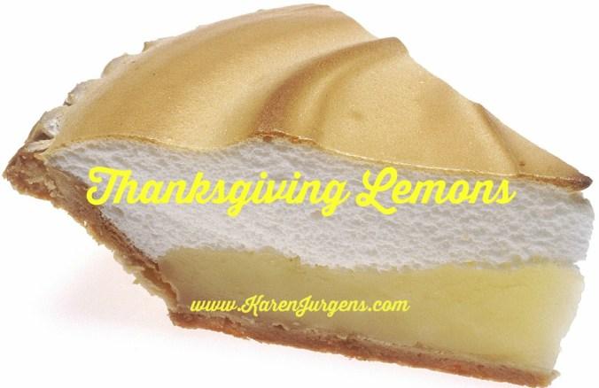 Thanksgiving Lemons by Karen Jurgens