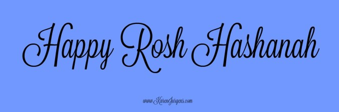Happy Rosh Hashanah by Karen Jurgens