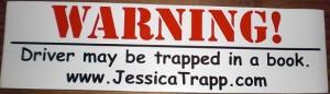 Jessica Trap bumper magnet 2