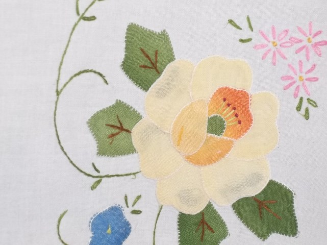 applique close up