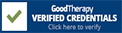 Karen Lewis LCSW verified by GoodTherapy