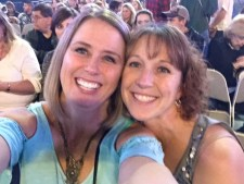 Friend Keely (right) and her pal Rhonda