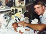 Dan and Hope in 1992