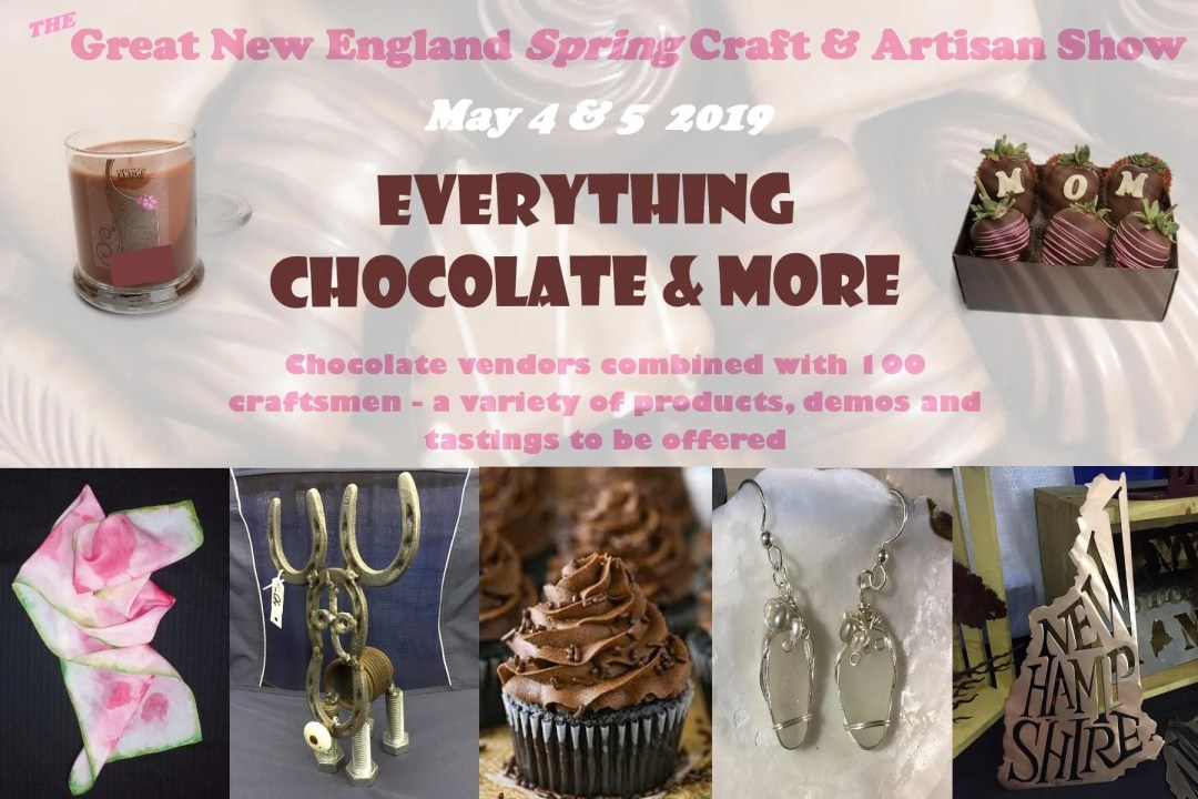 cannoli at the Great new England Spring Craft & Artisan Show