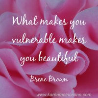 Why being vulnerable is an ingredient to living fabulously