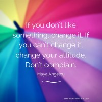 When you feel ready to complain, try this instead