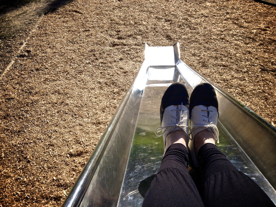 Ready to slide