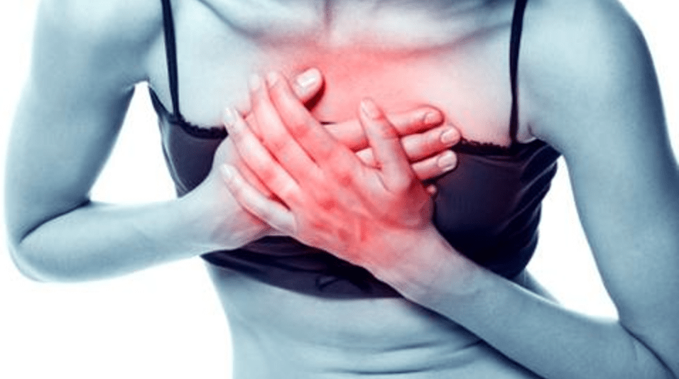chest pain while running