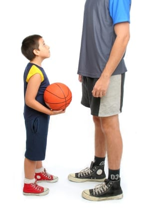 Height and weight differences increase risk of sports injuries