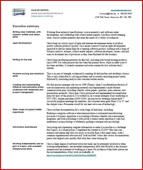 Resume Karen Rempel Vancouver Technical Writer