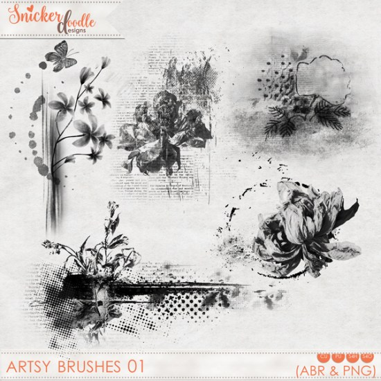 Artsy Brushes SnickerdoodleDesigns