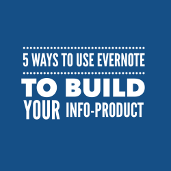 5 ways to use Evernote to build your course