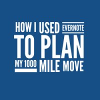 How I used Evernote to Plan my 1000 mile move