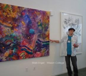 Mark Engel Painting at ArtArk Gallery