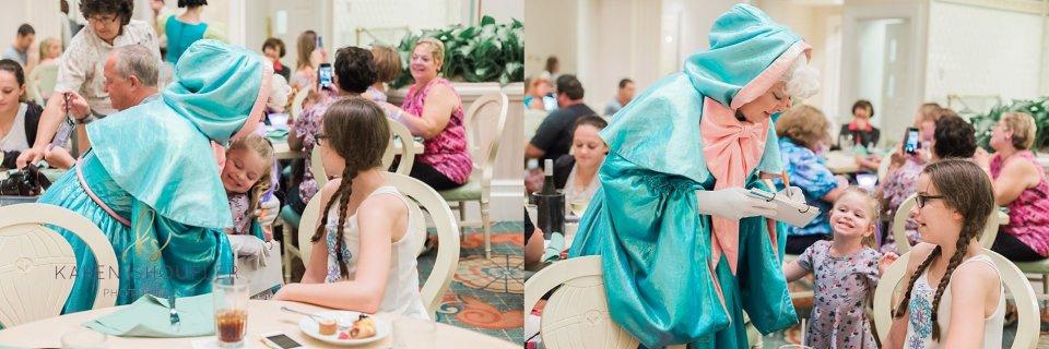 Cinderella's Happily Ever After Dinner www.karenshoufler.com