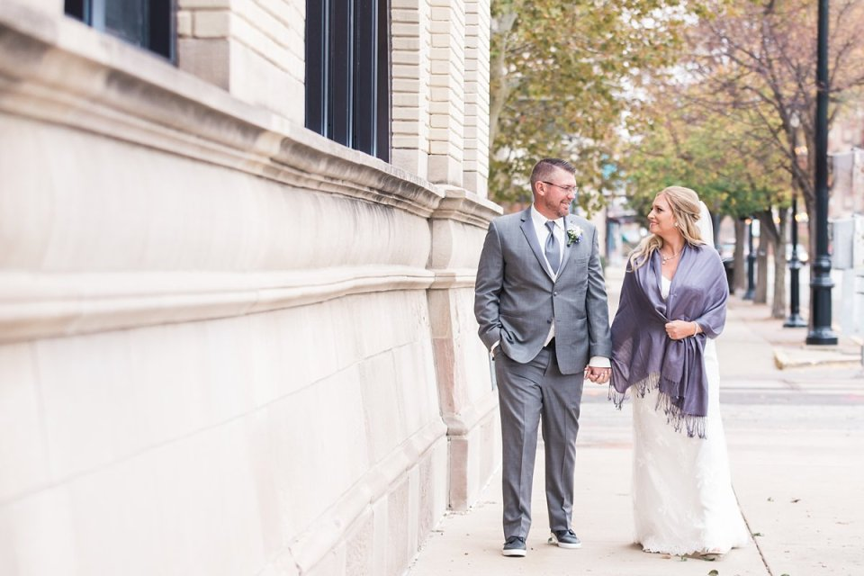 Downtown Springfield Couple Wedding