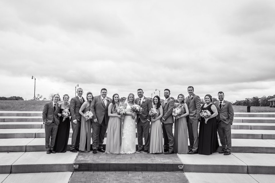 Springfield Golf Course Wedding Party