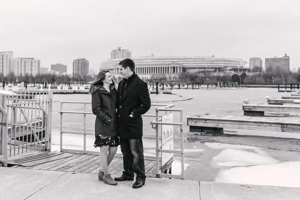 Downtown Chicago City Engagement | www.karenshoufler.com