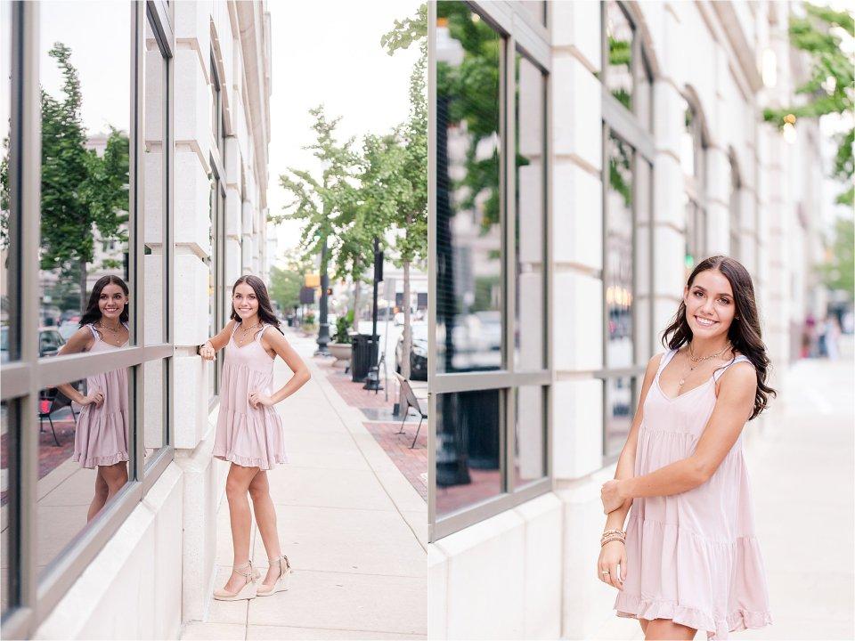 Downtown Lafayette Senior Girl Photography
