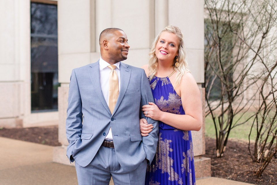 Downtown Indianapolis Engagement Photography