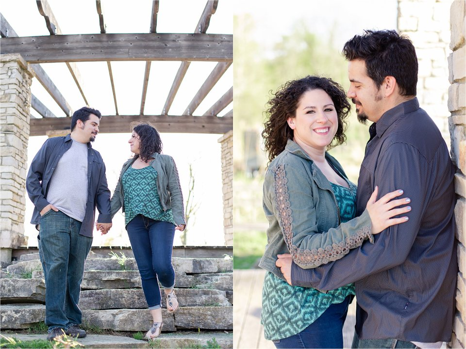 Coffee Creek engagement session in Chesterton, Indiana by Karen Shoufler Photography