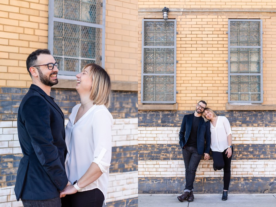 Chicago West Loop engagement photography
