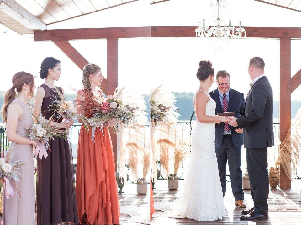 wedding ceremony at Egyptian Hills Resort
