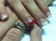 christmas karen's nails