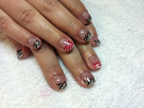 French Tip Karen' Nails