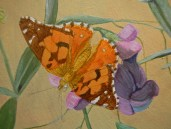 Butterfly step 2 © 2014 Karen A Johnson