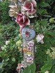 Bird house pole detail© 2014 Karen A. Johnson