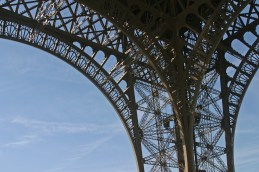Eiffel tower detail © 2014 Karen A. Johnson