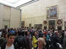 Mona Lisa room © 2014 Karen A. Johnson