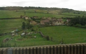 TGV train view 6 © 2014 Karen A. Johnson