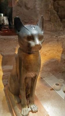 Egyptian cat © 2015 Karen A Johnson