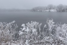 Frost at the lake © 2015 Karen A. Johnson