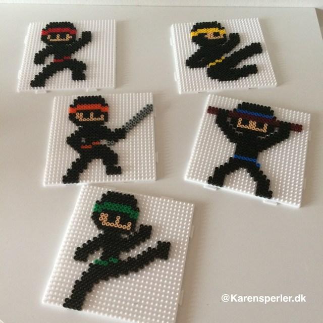 Ninjaer i hamaperler