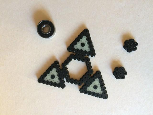 Fidgetspinner DIY 5 Hama