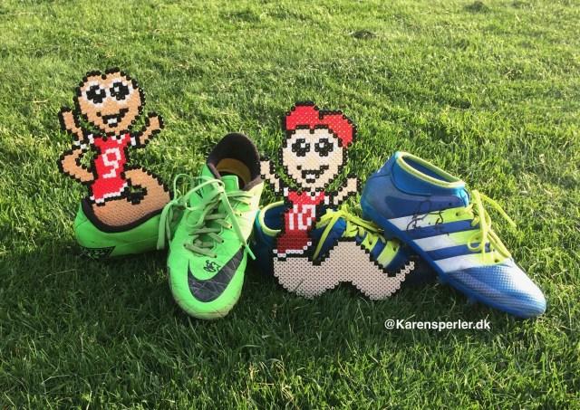 Fodbold i hamaperler