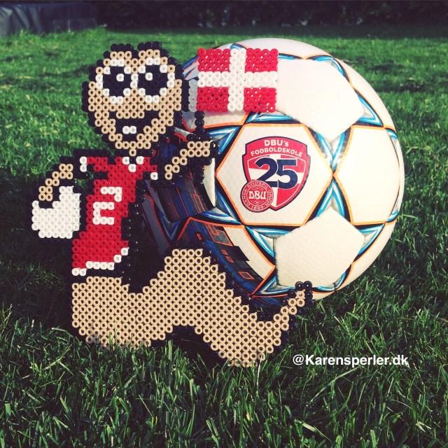 Orla Orm - fodboldfan