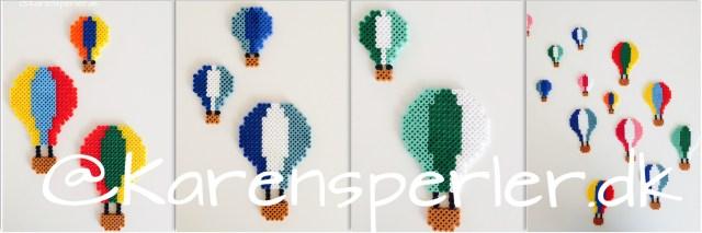 Luftballoner i Hamaperler, luftballons fusebeads