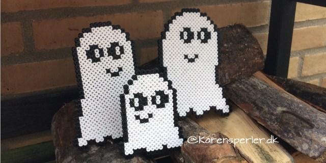Halloween spøgelser perler