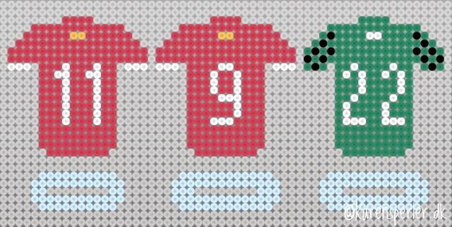 Liverpool Hama fuse beads Mønster