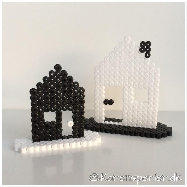 Julegaver Huse i perler