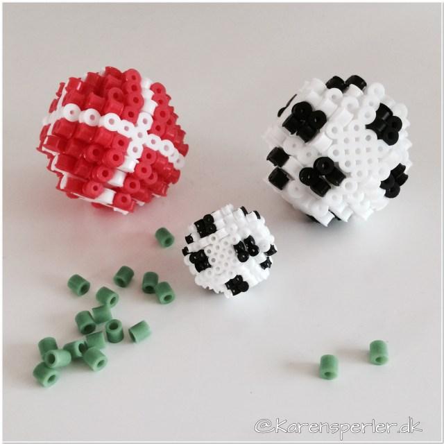 Fodbold i 3D-perler