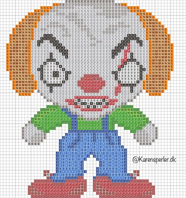 Killer clowns halloween perler