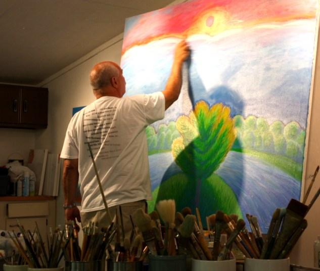 Artist Howard Storm
